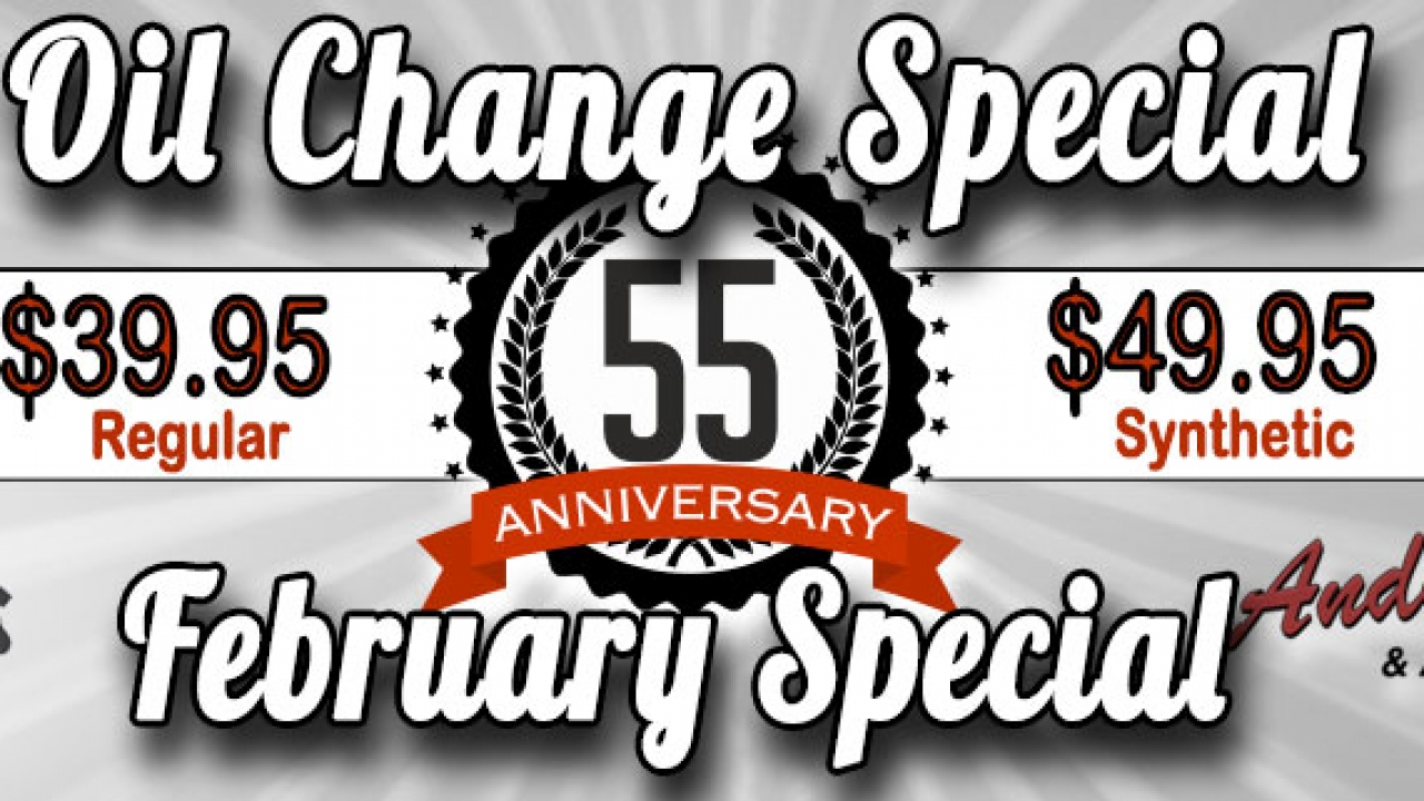 Oil Change Special >> Oil Change Special Andy S Transmission Service Moose Jaw