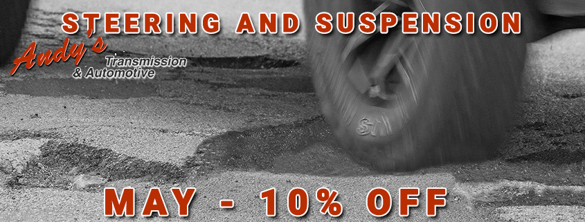 May Special Vehicle Steering Suspension Repair Moose Jaw