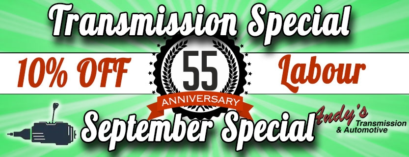 September Special - Transmission Special - Moose Jaw